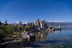 Mono Lake and Tioga Pass (Andy Frazer) Tags: longexposure nightphotography monolake startrails tufas