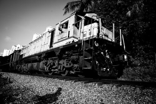 Passing KTM Train