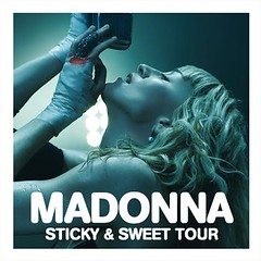 Madonna - Sticky & Sweet Tour (fan cover) (marcosvlmoraes) Tags: design dvd cd madonna stickysweettour