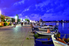 Preveza, Epirus - Greece : ,    (Nikos Voustros) Tags: sunset port boats photo greece epirus     preveza