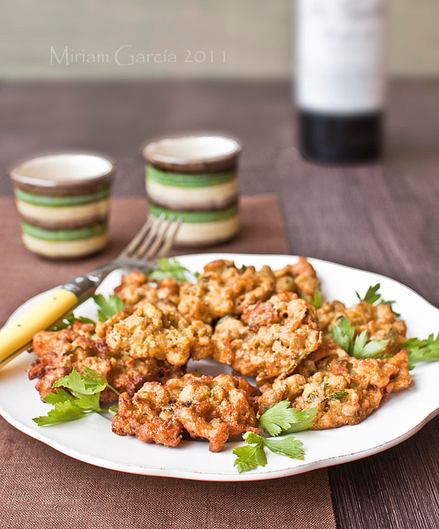 Cauliflower fritters 3