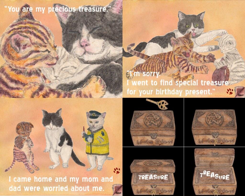 Treasure (Interactive Animation) - Last scenes