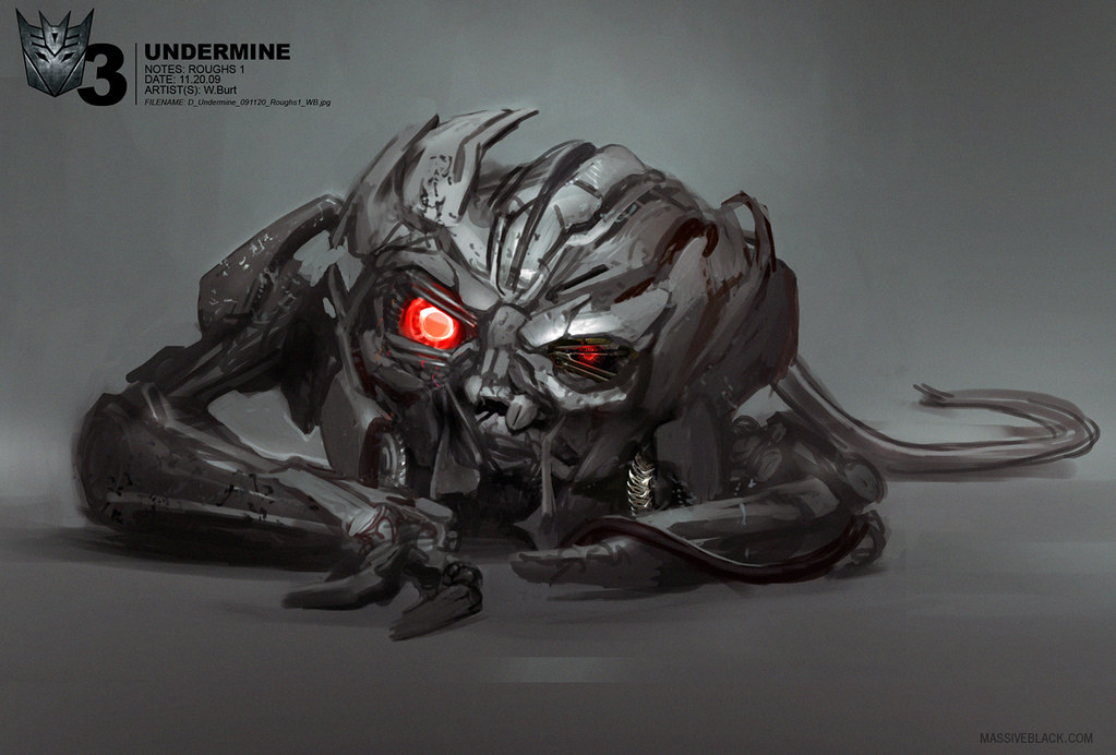 Transformers 3   Concept ArtQue Transformers 3