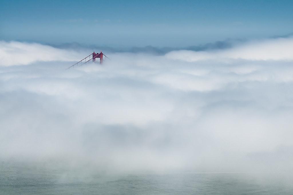 Bridge in the Fog © Harold Davis