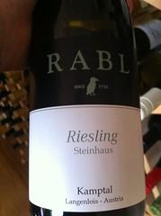 2009 Rabl Riesling Steinhaus