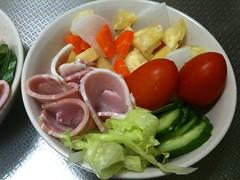 朝食サラダ(2011/10/6)