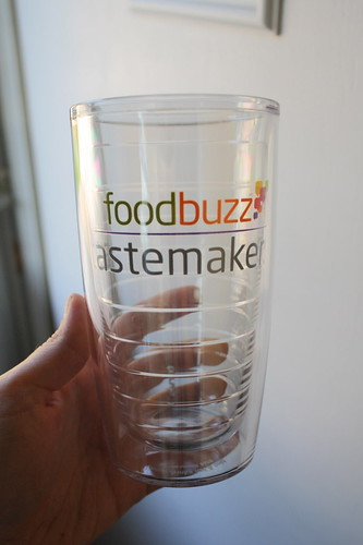 Foodbuzz Tastemakers tumbler