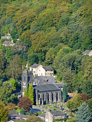 Hebden Bridge church, seen from Horsehold Road by Tim Green aka atoach