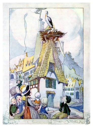 024-Cuentos de Hans Christian Andersen-La cigüeña-Anne Anderson