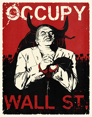 """Occupy Wall Street"" Poster"