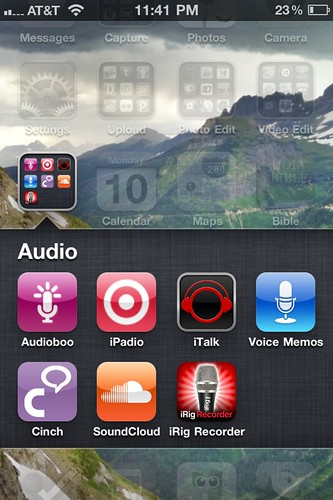 Audio Recording and Sharing Apps (Oct 2011)