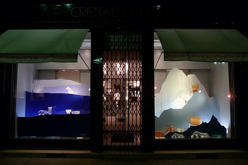 Vitrines Lalique par Stéphanie Moisan- Paris, octobre 2011