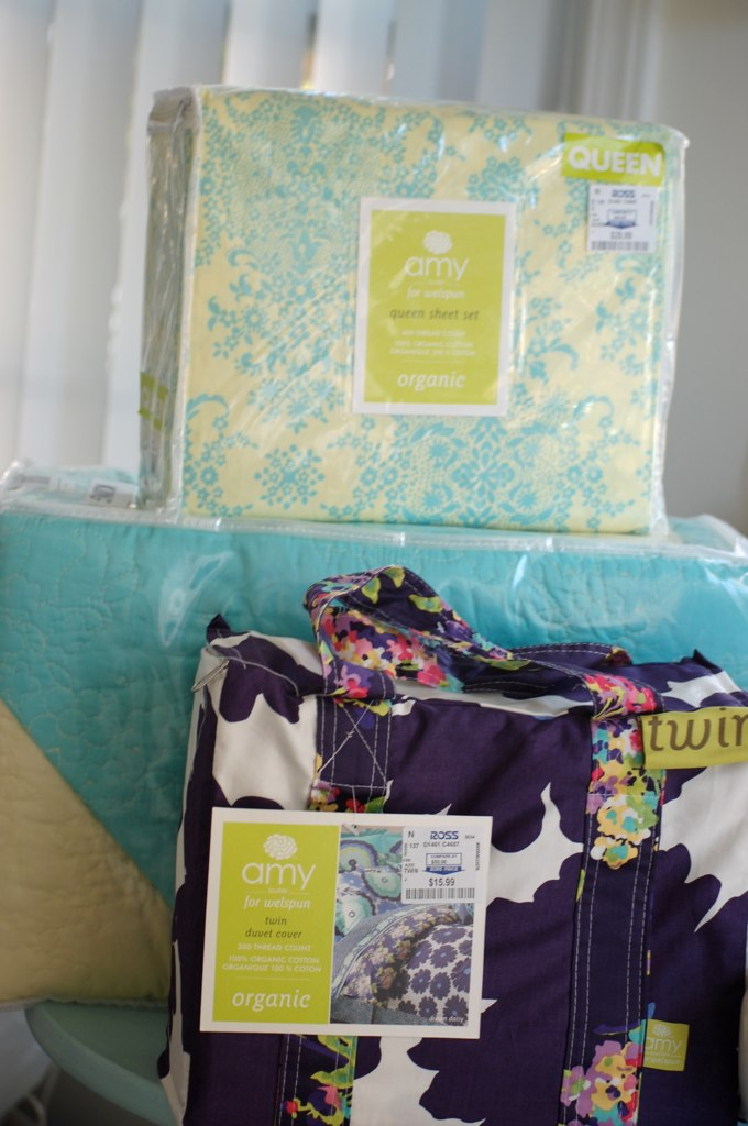 amy butler bedding - the haul