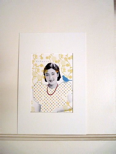 Chinese woman wall by la casa a pois