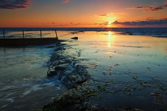 Mona Vale Sunrise [ EXPLORE ] (James.Breeze) Tags: ocean seascape beach water sunrise landscape rocks raw seascapes cloudy ngc australia nsw breeze reef tidalpool saltwater northernbeaches beachsunrise canonef1740mmf4l ef1740mmf4lusm bestofaustralia jamesbreeze