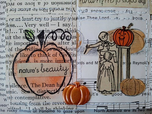 Pumpkin Tiny Book Third Layout