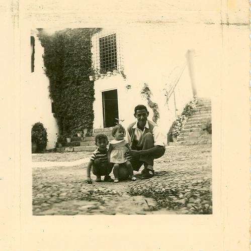 En el patio de armas del Castilllo