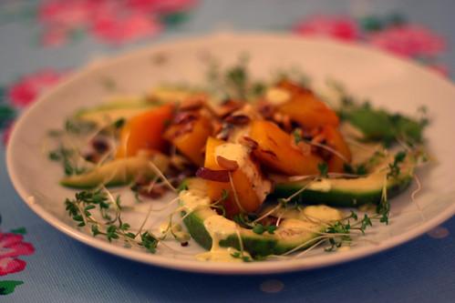 kürbis-avocado-salat
