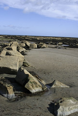 the sweep of the rocks (eleda 1) Tags: beach landscape sand beachlife northumberland rockpools sunseaandsand