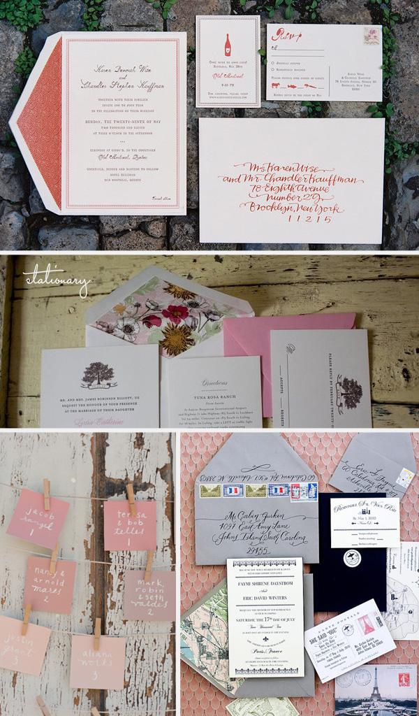 Omaha, Nebraska Wedding Planner stationary