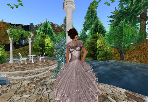 The Dominion Birthday Hunt#3 - Petal dress by Cherokeeh Asteria