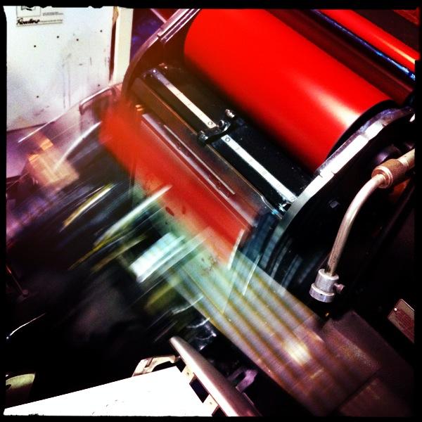 Platen printing
