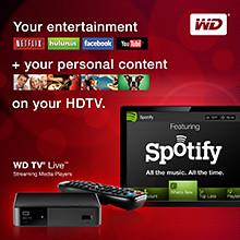 Western Digital WD TV Live streaming media player