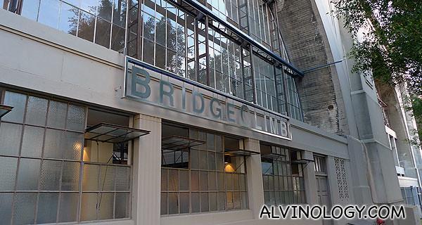 BridgeClimb building