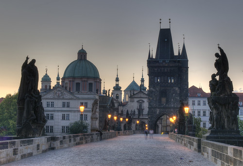 Charles Bridge, Prague / Karlsbrücke in Prag