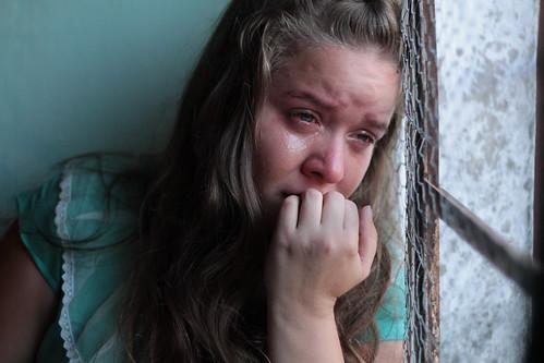 無料写真素材, 人物, 女性, 泣く・涙, パラグアイ人