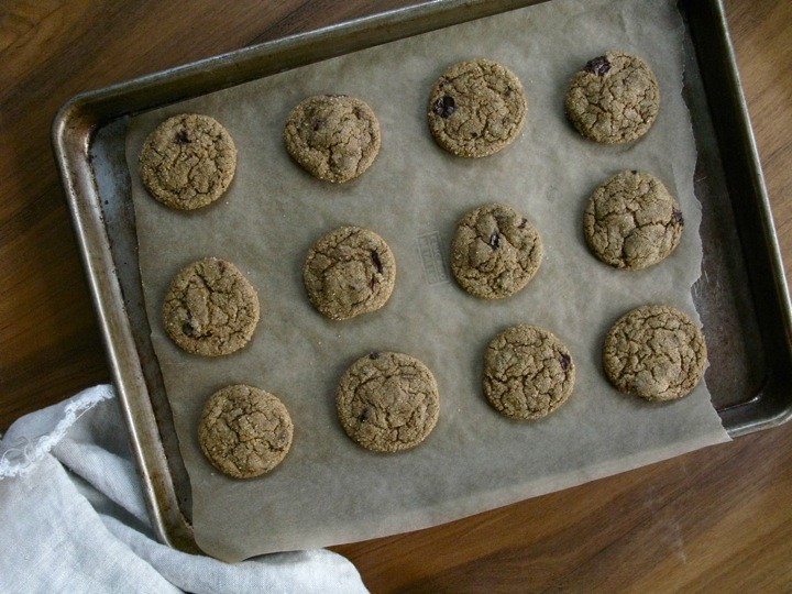ginger chip cookies 001