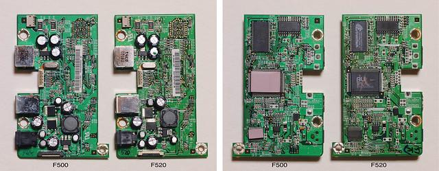 Comparison of a control board
