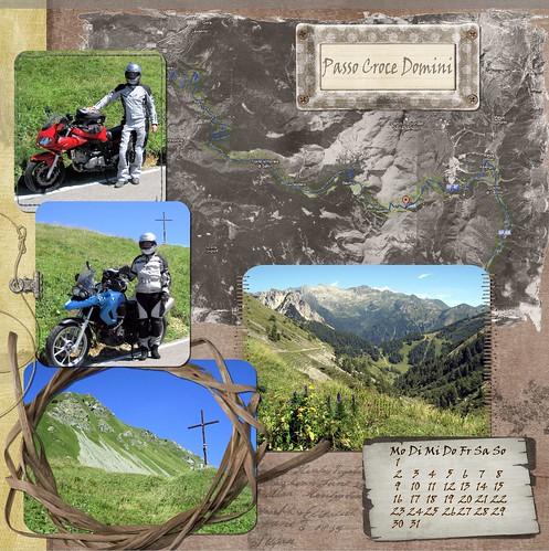 "Kalenderblatt ""Passo Croce Domini"""
