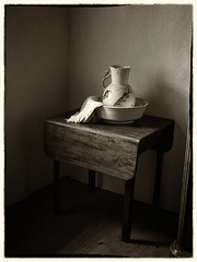 Still Life (Feldore) Tags: life park old ireland house sepia vintage table still folk american jug vermeer northern pitcher mchugh ulster omagh feldore
