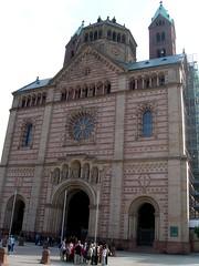 Speyer - Dom - Westwerk (ohaoha) Tags: germany deutschland europa dom kathedrale alemania basilika speyer weltkulturerbe rheinlandpfalz westwerk romanik