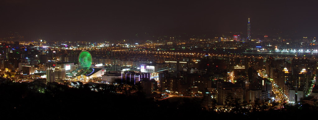 20111022 劍南山夜拍