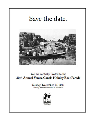 Venice Canals Boat Parade