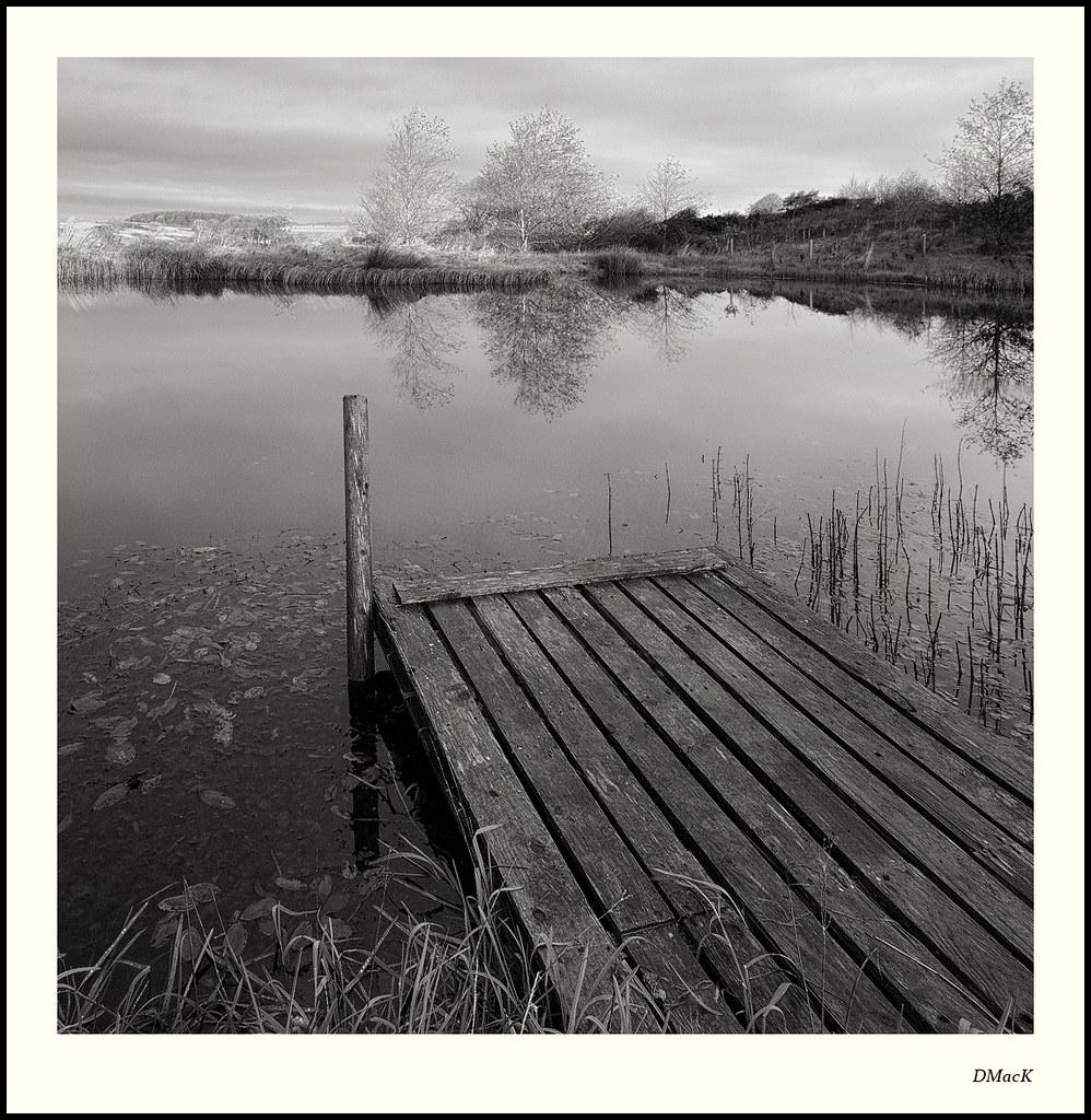 The Pond at Castle Creavie