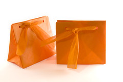 Bolsas  de regalo Origami (La Xana Artesana) Tags: soap origami galeria artesanal packaging papel bolsa naranja regalo kraft giftbag xana jabón jabones artesana jabonesnaturales laxanaartesana xanaartesana