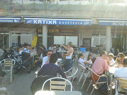 Zarautz | Katixa Surf Bar | Terraza