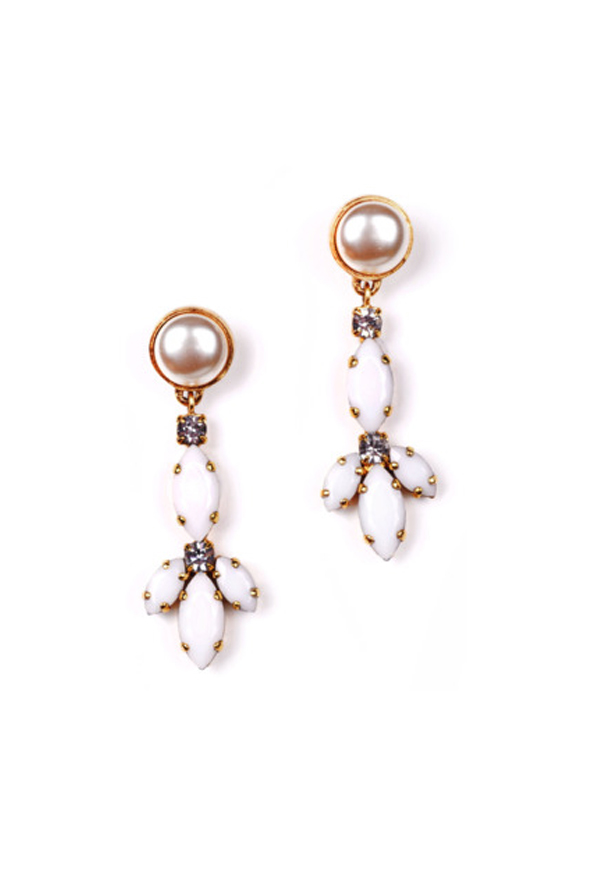 Navette Long Earring