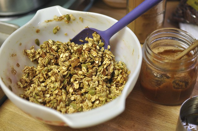 fruit butter granola