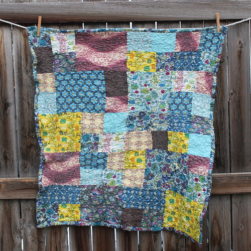 Little Folks Voile Quilt - a sort of sad tale