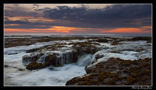 sunrise - the cowry hole - 30-10-2011_0025-Framed
