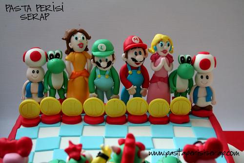 Mario  cake-Ege birthday