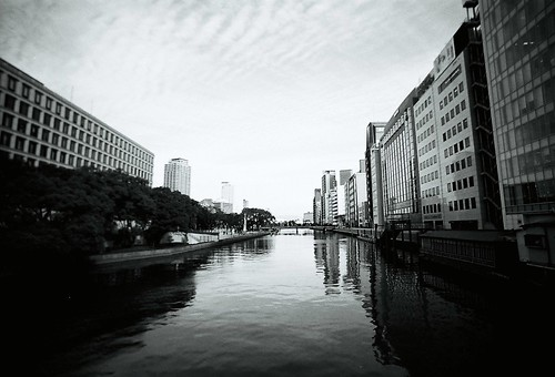 Riverside in Osaka