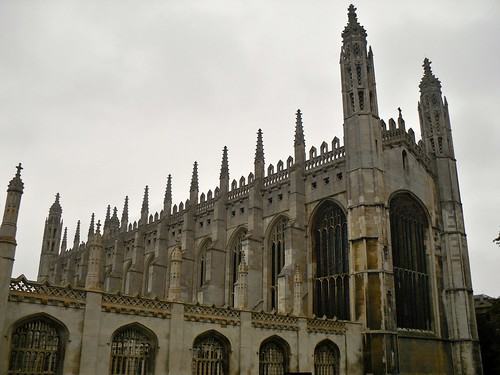 King's College, Cambridge. Right Side