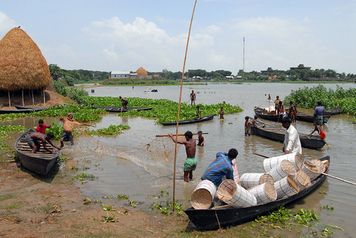 Small-scale fisheries, Bangladesh. Photo by WorldFish, 2006