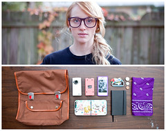 Shannon Diptych (J Trav) Tags: atlanta portrait persona diptych things whatsinyourbag pdn jtrav theitemswecarry jasontravis eoscanon5dmarkii showusthecontentsofyourbag onelifecompetition