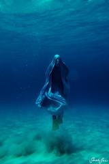 boo (SARAΗ LEE) Tags: ocean blue sea halloween hawaii scary sand underwater ghost bubbles tina bigisland kona fins duckfeet ascend kuabay sarahlee tinaf kobetich vivantvie